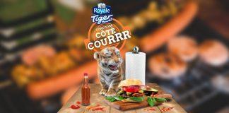 Concours Côté couRRR de ROYALE Tiger Towel