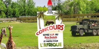 Concours Parc Safari VIP