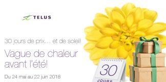 Concours Telus 30 Jours De Prix Et De Soleil
