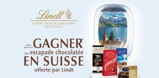 Concours Lindt Escapade Chocolatée