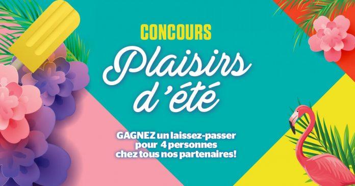 Concours Journal De Montréal Plaisirs d'Été 2018