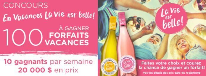 Concours La Vie Est Belle