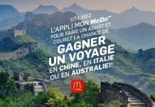 Concours McDonald's Un Voyage De Saveurs