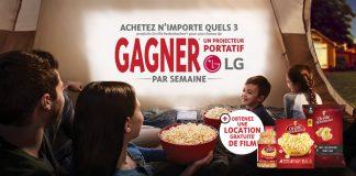 Concours Soirée Cinéma de Orville Redenbacher