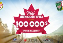 Concours Canada Dry Le Vrai Bon Goût d'Ici