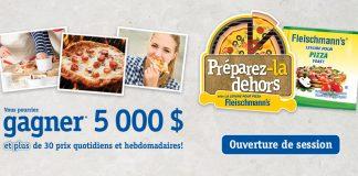 Concours Fleischmann's Préparez La Dehors