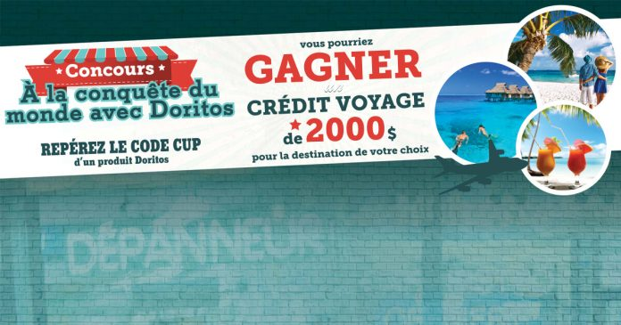 Concours Les Dépanneurs Qu'On Court À La Conquête Du Monde Avec Doritos