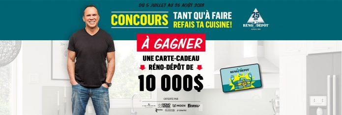 Concours Réno-Dépôt Tant Qu'À Faire, Refais Ta Cuisine
