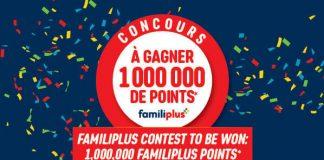Concours 1 000 000 Points Familiplus