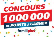 Concours Familiprix 1 000 000 Points Familiplus