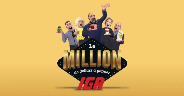 Concours Le Million IGA