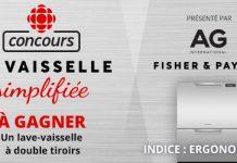 Concours Radio-Canada La Vaisselle Simplifiée