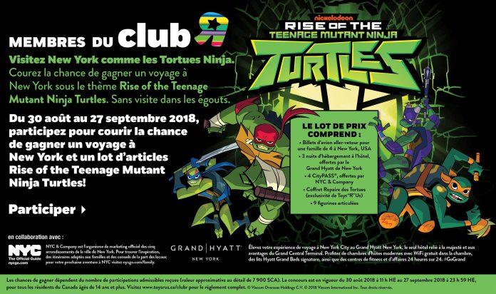 Concours Toys R Us Teenage Mutant Ninja Turtles