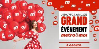 Concours Millionnaire Metro