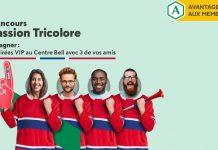 Concours Desjardins Passion Tricolore
