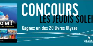 Concours Évasion Les Jeudis Soleil