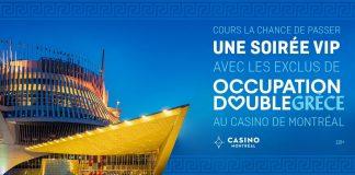Concours Noovo Soirée VIP Occupation Double Grèce