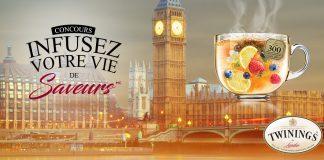 Concours Salut Bonjour Twinings Infusez Votre Vie De Saveurs À Londres