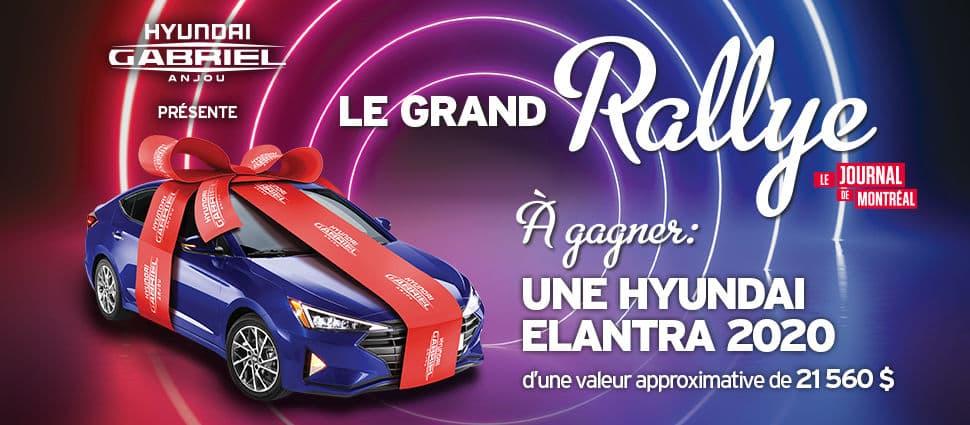 Concours Le Grand Rallye Journal de Montréal 2019 ...