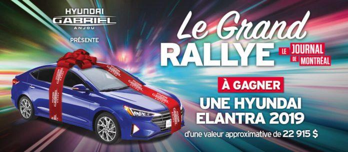 Concours Journal de Montréal Le Grand Rallye