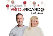 Concours Véro Et RICARDO À Votre Table