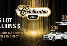 Concours Promo Célébration 2020 de Loto-Québec