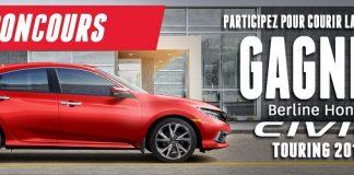 Concours Honda Civic 2019