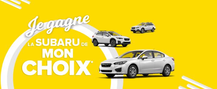 Concours Promutuel Assurance Je Gagne La Subaru De Mon Choix