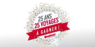 Concours Qualinet 25 Ans