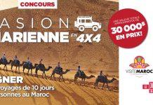 Concours Journal de Montréal/Québec Évasion Saharienne en 4X4