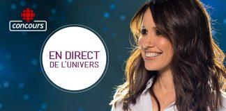 Concours La francophonie à l'honneur grâce à En direct de l'univers