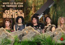 Concours Radio-Canada Visite le Plateau de Tournage avec Les Sapiens