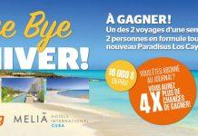 Concours Journal De Montréal/Québec Bye Bye L'Hiver