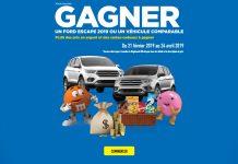 Concours Maxi Gagnez Un Ford Escape SE 2019