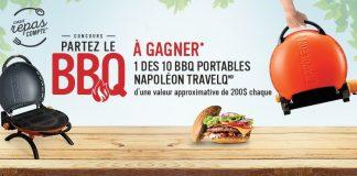 Concours Metro Partez Le BBQ