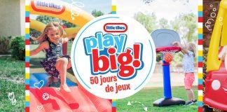 Concours Télémagino Et Little Tikes On Joue En Grand