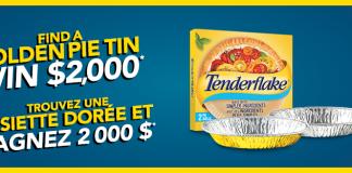 Concours Tenderflake Assiette Dorée
