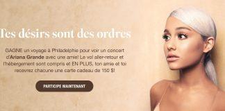 Concours Garage Ariana Grande En Concert