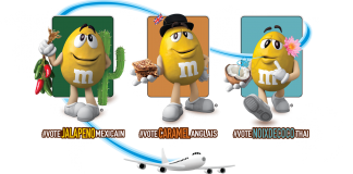 Concours M&M's Vote Saveur