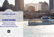 Concours Noovo Bateau-Mouche Montréal