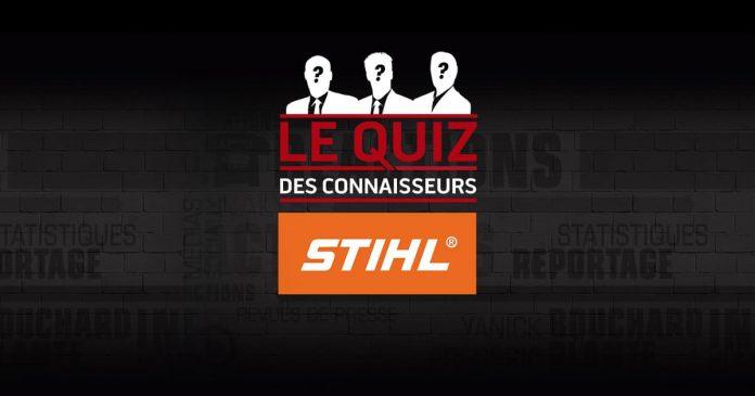 Concours RDS Le Quiz des Connaisseurs STIHL
