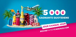 Concours Couche-Tard Roche Papier Cadeau