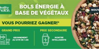 Concours Metro Healthy Choice