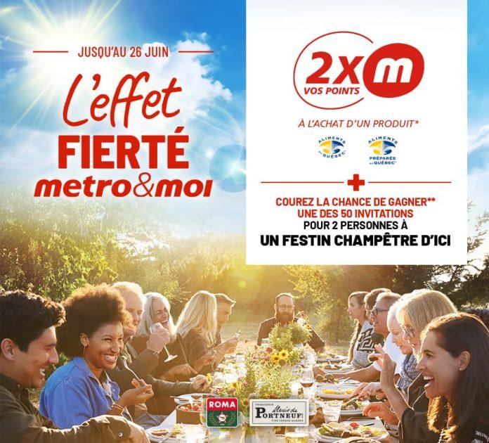 Concours Metro L'Effet Fierté metro&moi
