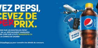 Concours Pepsi Primes PFK