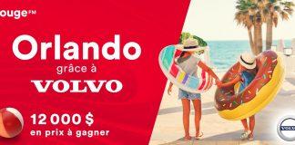 Concours ROUGE FM Orlando Grâce À Volvo