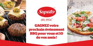 Concours Saputo BBQ Été