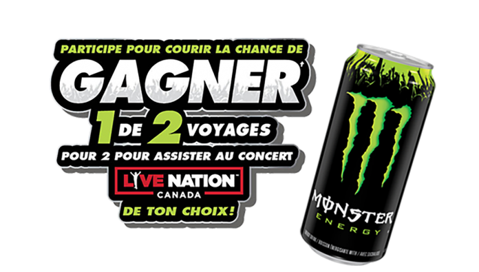 Concours Couche-Tard Monster Energy