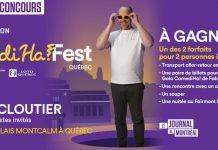 Concours Journal De Montréal COMEDIHA!