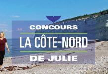 Concours La Côte-Nord de Julie Bélanger